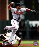 Dan Uggla 2011 Action Fine Art Print