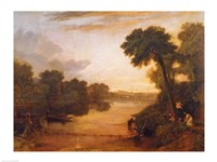 The Thames near Windsor, c.1807 Fine Art Print