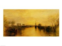 Chichester Canal, c.1829 Fine Art Print