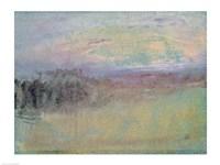 Coastal scene. c.1830 Fine Art Print