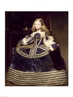 Infanta Margarita in Blue, 1659 Fine Art Print