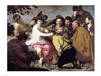Triumph of Bacchus, 1628 Fine Art Print