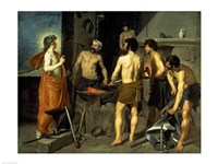 The Forge of Vulcan, 1630 Fine Art Print