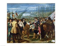 The Surrender of Breda, 1625 Fine Art Print