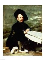 Court Jester, El Primo Fine Art Print