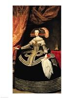 Queen Maria Anna of Austria, 1652 Fine Art Print
