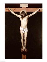 Christ on the Cross, c.1630 Framed Print