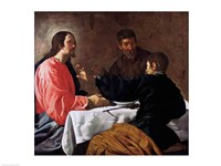 Supper at Emmaus, 1620 Fine Art Print