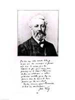 Portrait of Jules Verne Fine Art Print