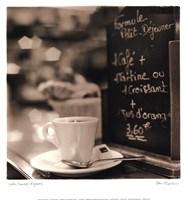 Café, Champs-Élysées Framed Print