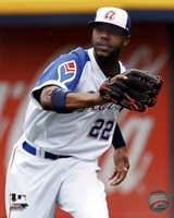 Jason Heyward 2011 Action Fine Art Print