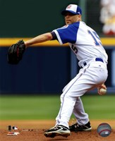 Tim Hudson 2011 Action Fine Art Print