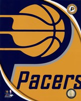 Indiana Pacers Team Logo Fine Art Print