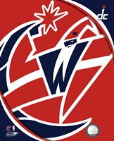 Washington Wizards Team Logo Fine Art Print