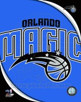 Orlando Magic Team Logo Framed Print