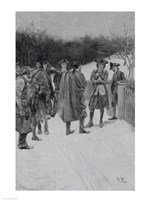 Paul Revere Bringing News to Sullivan Fine Art Print