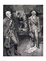Washington Refusing a Dictatorship Fine Art Print