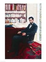 Portrait of Abraham Lincoln Fine Art Print