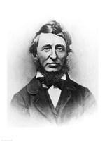 Henry Thoreau Framed Print