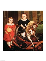 The Hobby Horse, c.1840 Fine Art Print