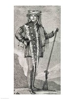 Portrait of Meriwether Lewis Fine Art Print