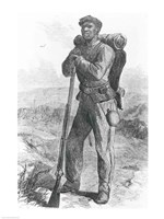The Escaped Slave in the Union Army Fine Art Print