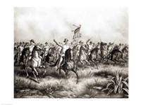 Rough Riders: Colonel Theodore Roosevelt Fine Art Print