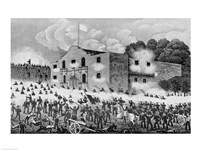 The Siege of the Alamo Fine Art Print