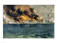 Bombardment of Fort Sumter Fine Art Print