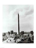 The Washington Monument and Surroundings, North View Fine Art Print