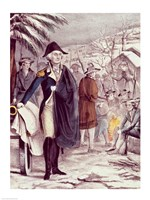 George Washington at Valley Forge Fine Art Print
