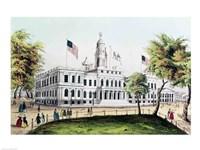 City Hall, New York Fine Art Print