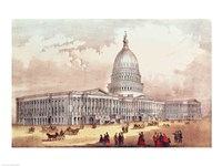 United States Capitol, Washington D.C. Fine Art Print