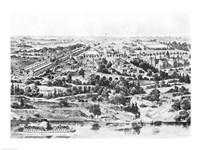 View of the Centennial Exposition, Philadelphia, 1876 Fine Art Print