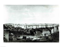 Boston Harbour, 1854 Fine Art Print