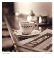 Caffe, Firenze Framed Print