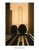 Cable Cars, San Francisco Fine Art Print
