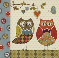 Owl Wonderful I Fine Art Print