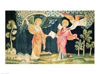 St. John Eating the Book Fine Art Print
