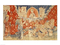 The Seven Bowls of Wrath and the Destruction of Babylon Fine Art Print