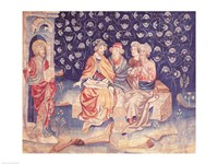 Discussion of the Resurrection Fine Art Print