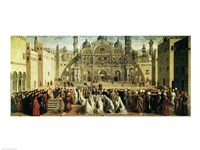 St. Mark Preaching in Alexandria, Egypt Fine Art Print