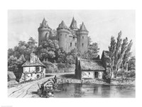 The Castle of Combourg Fine Art Print