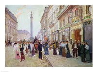Workers leaving the Maison Paquin Fine Art Print