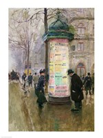 The Colonne Morris Fine Art Print