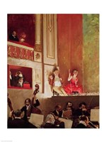 Revue at the Theatre des Varietes Fine Art Print