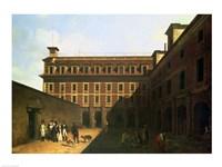 The Prison des Madelonnettes Fine Art Print