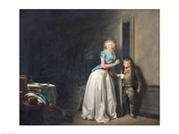 The Visit Received, 1789 Fine Art Print