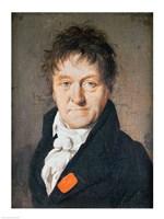 Portrait of Lazare Nicolas Marguerite Carnot Fine Art Print