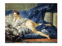 The Odalisque, 1745 Fine Art Print